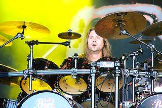 Jaska Raatikainen Finnish drummer