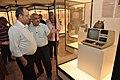 Jayanta Sengupta Visits With Shrikant Pathak And Manash Bagchi - Objects In CRTL Archive Exhibition - NCSM - Kolkata 2018-05-18 0764.JPG