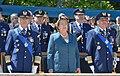 Jefa de Estado asistió a la ceremonia de cambio de mando y entrega de la Comandancia en Jefe de la Fuerza Aérea de Chile (15695343466).jpg