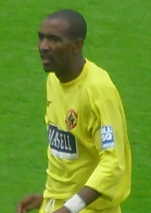 Jefferson Louis - Louis playing for Crawley Town in 2009