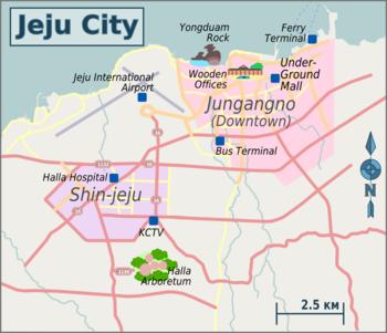 Jeju City Travel Guide At Wikivoyage