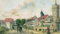 Jena Fürstengraben von Westen 1792.png
