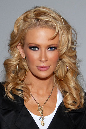 Jenna Jameson, Culver City, CA on March 11, 20...