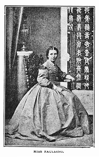 Jennie Faulding Taylor - Jennie Faulding in 1866.