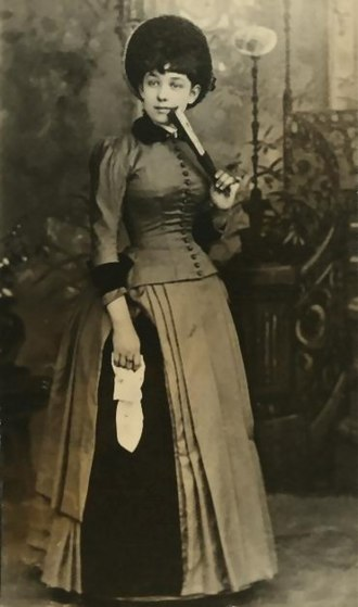 Frank Bacon (actor) - Jennie Weidman, actress wife of Frank Bacon
