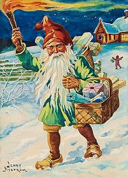 tecknad Santa kön
