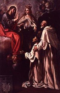 Jeroni Jacint Espinosa, Sant Pere Nolasc intercedint pels seus frares malalts, 1651-1652.jpg