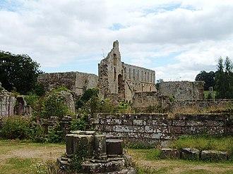 Jervaulx Abbey - Jervaulx Abbey ruins