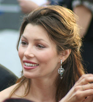 Jessica Biel at the 81st Academy Awards