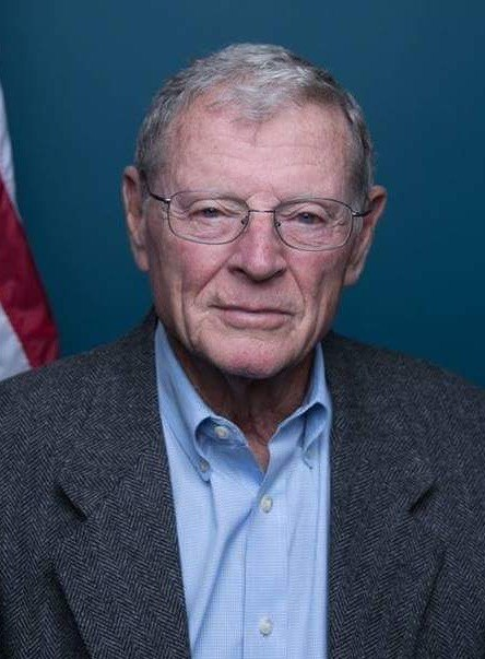 Jim Inhofe official senate portrait 115th congress