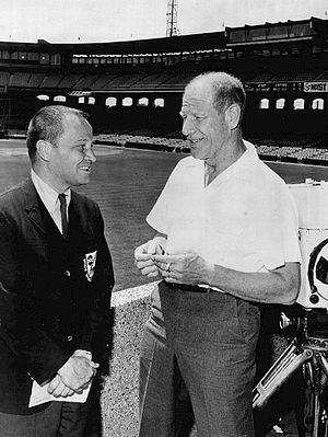 Bill Veeck - Veeck being interviewed by Jim McKay for Wide World of Sports in 1964.