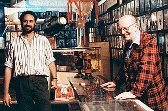 The Secret Cabaret - Producer Jim Steinmeyer (left) with Jay Marshall