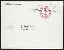 que signifie affranchir une lettre Affranchissement (système postal) — Wikipédia que signifie affranchir une lettre