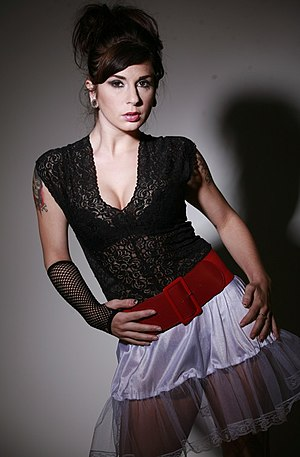 American actress/entrepeneur Joanna Angel.