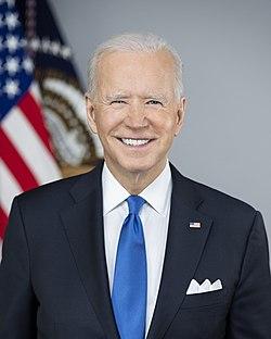 Portrait officiel de Joe Biden (2021)