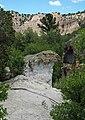 Joe Lott Tuff & Sevier River Formation (Joe Lott Creek Canyon, Tushar Mountains, Utah, USA) 1.jpg