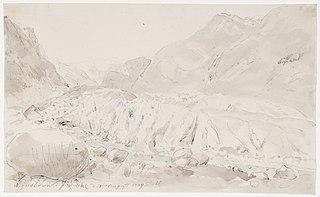 The Nigar Glacier