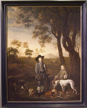 Johan le Ducq - Princes de Vildt on a Hunt (1656)