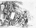 Johann Friedrich Bury, Johann Wolfgang von Goethe in seinem italienischen Freundeskreis.jpg