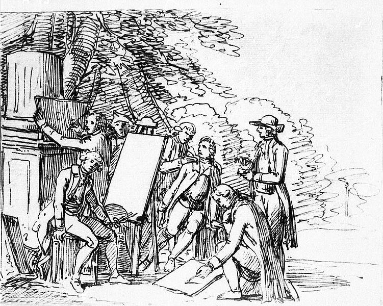 File:Johann Friedrich Bury, Johann Wolfgang von Goethe in seinem italienischen Freundeskreis.jpg