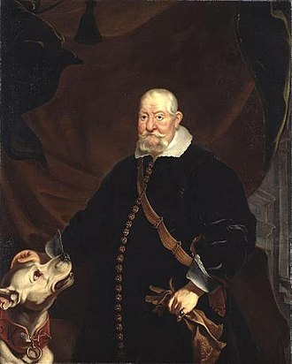 John George I, Elector of Saxony - John George I in 1652, portrait by Franz Luycx