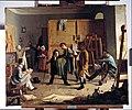 Johann Peter Hasenclever - Studio Scene - Google Art Project.jpg