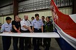 John Conner (center) Malmstrom Air Force Base Civil Air Patrol Composite Squadron deputy commander, explains the aerodynamics of a wing to cadets.jpg
