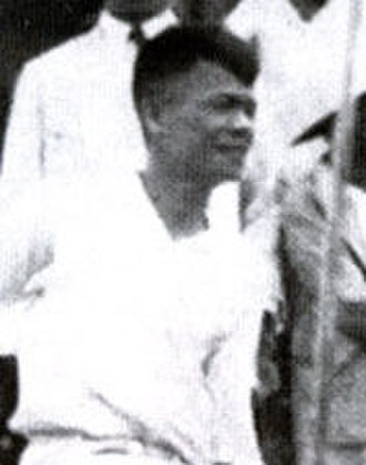 John Sung - Rev. John Sung after his first Singapore visit in 1935, about to sail for Shanghai