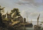 John Thomas Serres - A riverside hamlet.jpg