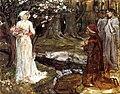 John William Waterhouse - Dante and Matilda.jpg