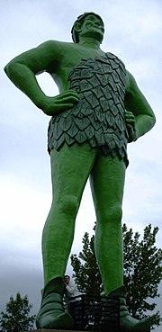快乐的绿色巨人