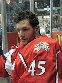 Jonathan Bernier Canadian ice hockey goaltender