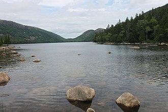 Hancock County, Maine - Jordan Pond (July 4, 2014)