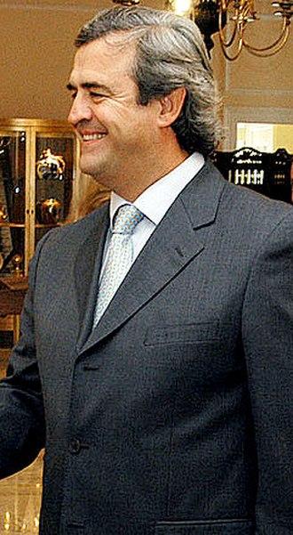 2004 Uruguayan general election - Image: Jorgelarranaga