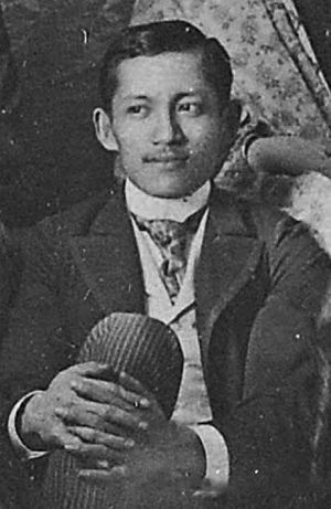 Rizal Day - José Rizal in Barcelona, Spain
