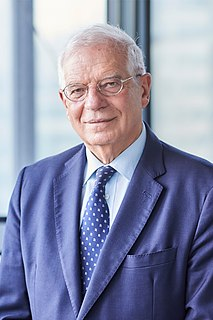 Josep Borrell Spanish politician