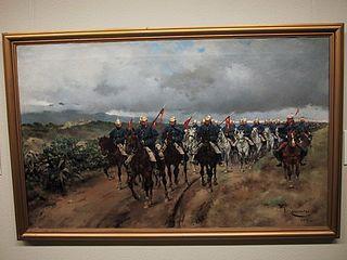 Un regiment en marxa