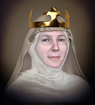 Judith of Thuringia - Forensic facial reconstruction of Judith of Thuringia