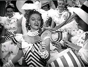 "Ziegfeld Girl (film) -  Judy Garland singing ""Minnie From Trinidad"" in Ziegfeld Girl"