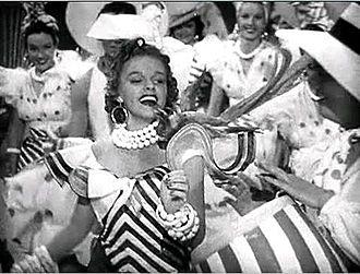 "Ziegfeld Girl (film) - Judy Garland singing ""Minnie From Trinidad"" in Ziegfeld Girl"