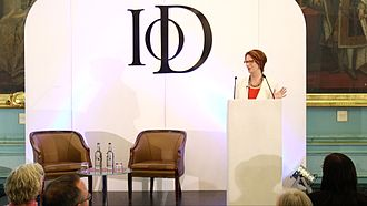 Institute of Directors - Julia Gillard delivers the inaugural Mackworth Lecture at the IoD, 2015