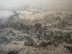 Julian Falat Übergang der Französischen Armee über die Bresina