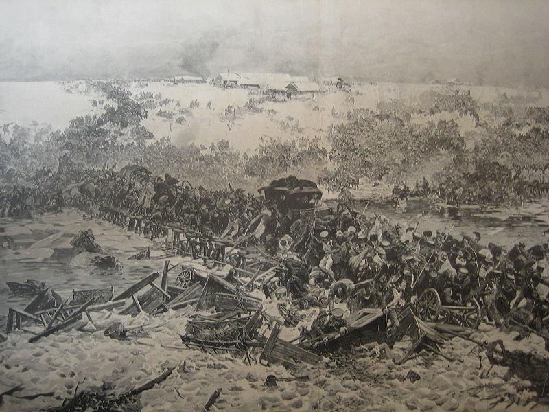 Plik:Julian Falat Übergang der Französischen Armee über die Bresina.JPG
