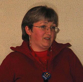 Juliet E. McKenna - Juliet E. McKenna at the IstraKon convention in Croatia (2007)