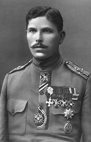 Kuperjanov Infantry Battalion - Julius Kuperjanov, founder and commander of the battalion.