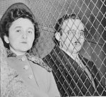 Ethel and Julius Rosenberg after their conviction