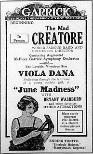 <i>June Madness</i> 1922 film by Harry Beaumont