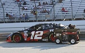 Justin Allgaier - Allgaier's 2009 Nationwide racecar