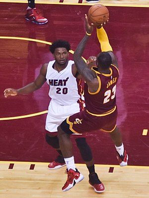 Justise Winslow - Winslow defending LeBron James