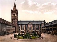 Königsberg Castle courtyard
